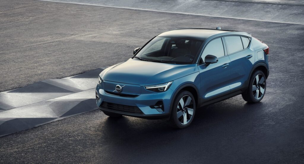 Introducing Volvo's first purely electric model - the C40 Recharge