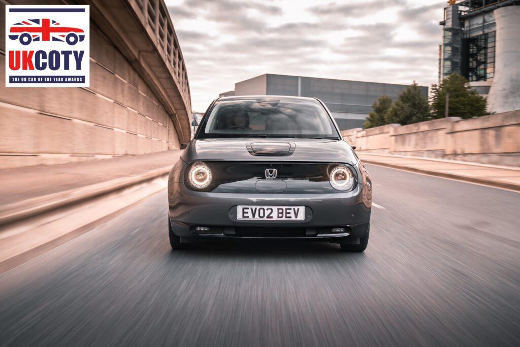 Honda e named 'City Car of the Year' in the UK COTY Awards 2021