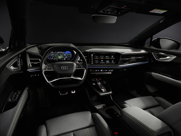 The new Audi Q4 e-tron setting the standard for EV interiors...check out the video