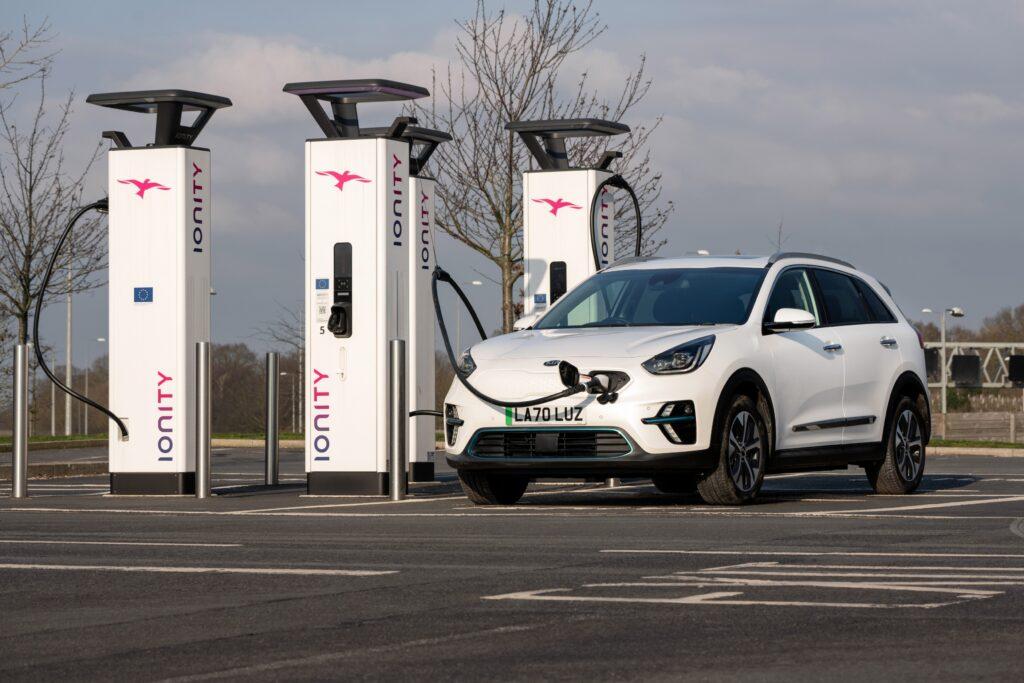 Kia continues to lead UK EV sales in 2021