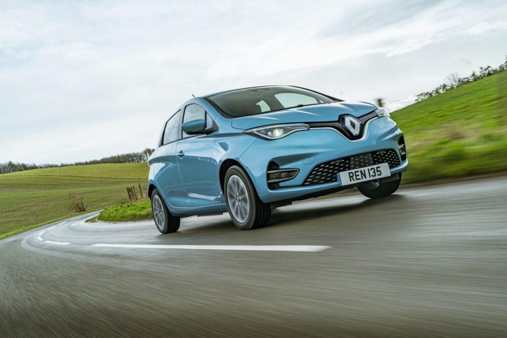 Renault Zoe £750 deposit contribution & 0% APR deal