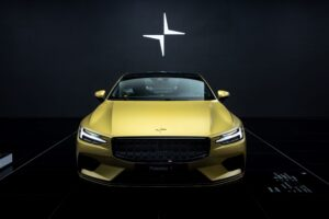 Polestar 1 special gold edition for final run-off
