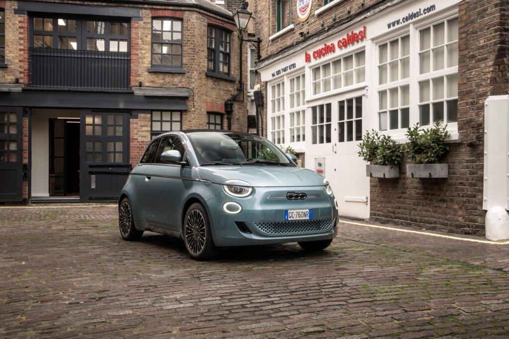 Fiat 500 all electric comes with power-saving mode so owners won't need to worry about running out of juice