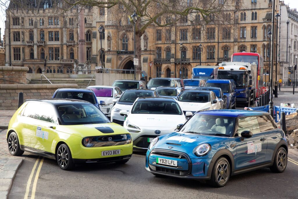 Battery electric vehicle sales have doubled in the first 4 months of 2021, SMMT reports