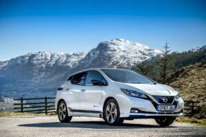 The worlds best selling electric car - the Nissan LEAF