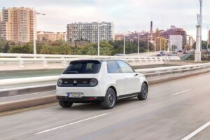 Honda e embodies the brand's vision for simplicity in urban mobility