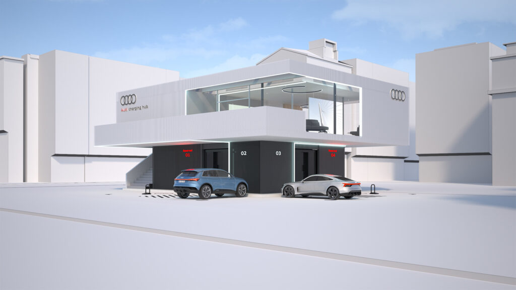 Audi's quick charging concept becoming a reality