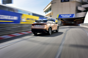 Nissan Ariya coupe crossover revealed in Monaco