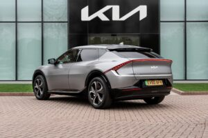The much anticipated new Kia EV6 with 226 bhp for £40,895