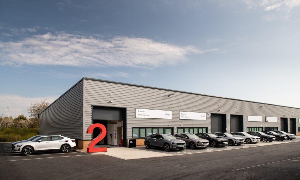 Polestar open dedicated test drive hubs