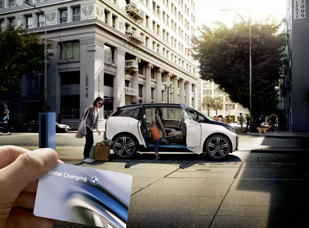 BMW and MINI launch world's largest public charging network