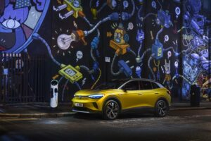 Volkswagen's first fully electric SUV - the ID.4