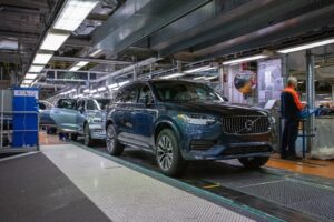 Volvo Cars Torslanda plant becomes the company's first climate-neutral car plant