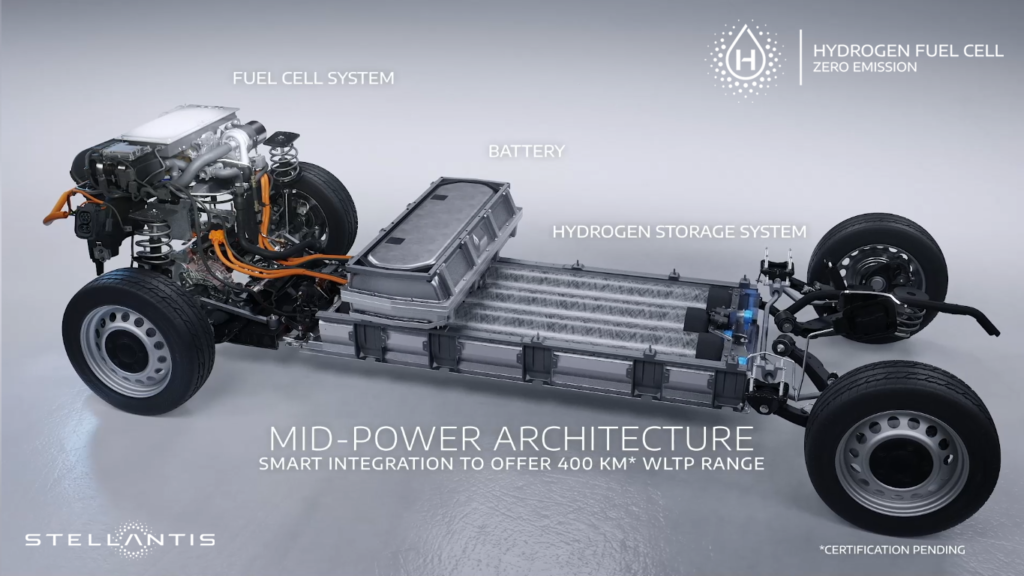 PEUGEOT begins production of new e-Expert Hydrogen