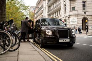 Taxi manufacturer LEVC celebrate 5000th electric taxi sale