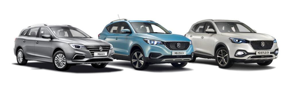 MG £750 discount - ZS EV, MG5 EV or MG HS Plug-in Hybrid