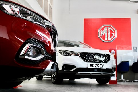 MG Motor continues to break records with nearly a third of all sales coming from pure electric models