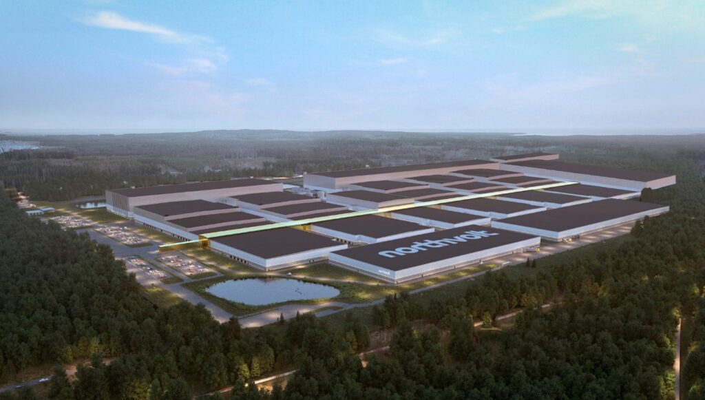 Volkswagen invests a further €500 million in sustainable battery production with Northvolt AB
