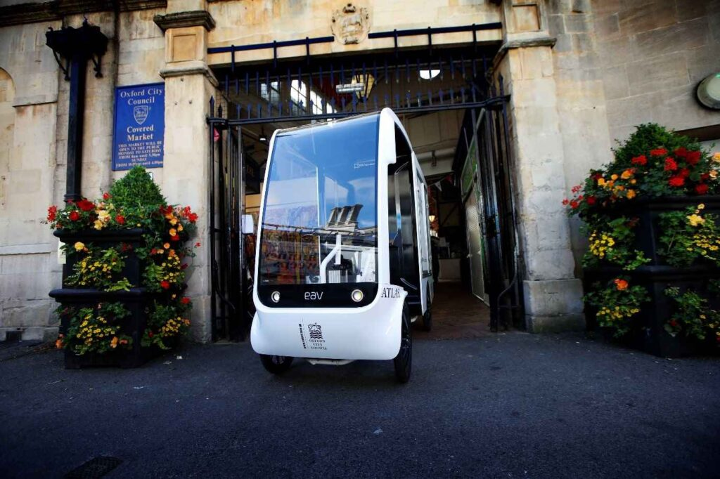 EAV delivers urban lightweight vehicles to famous Oxford covered market