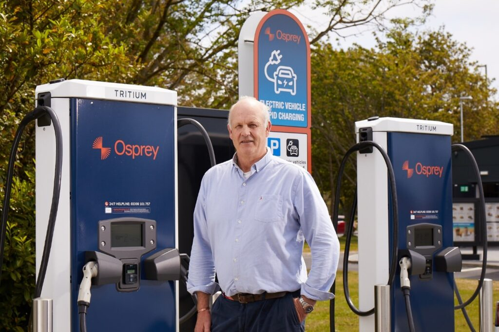 Osprey Charging set for expansion with appointment of Alex Bamberg as Non-Executive Director