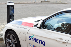 SYNETIQ marks World Environment Day by unveiling latest EV delivery van