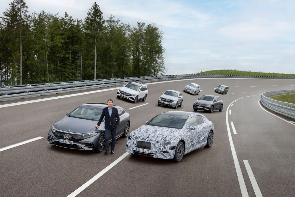 Mercedes-Benz prepares to go all-electric by 2030