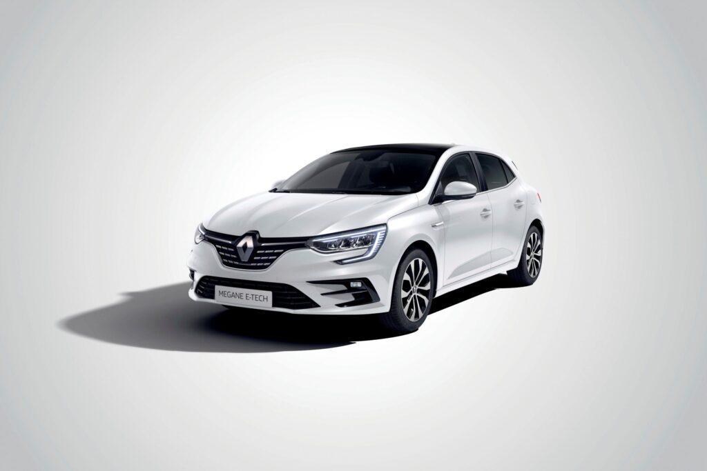 Renault Megane hatchback with e-tech plug-in hybrid