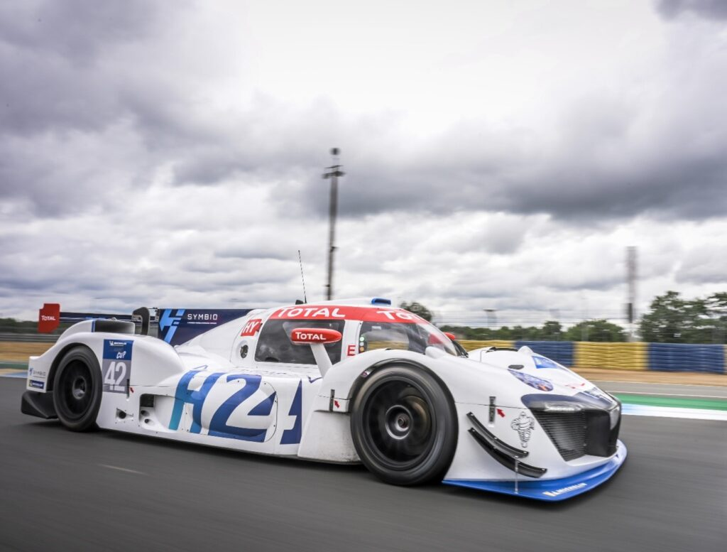 Hydrogen-powered MissionH24 endurance racer to make debut at the 2021 Goodwood Festival of Speed
