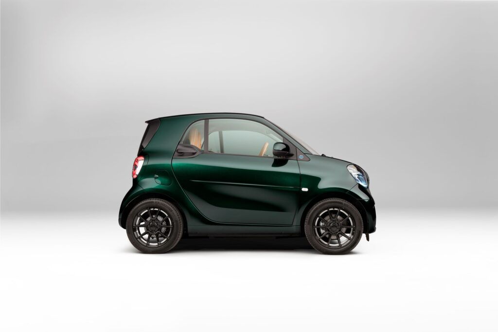 smart excited to reveal BRABUS-finished EQ fortwo coupé edition available to order from £25,495 OTR