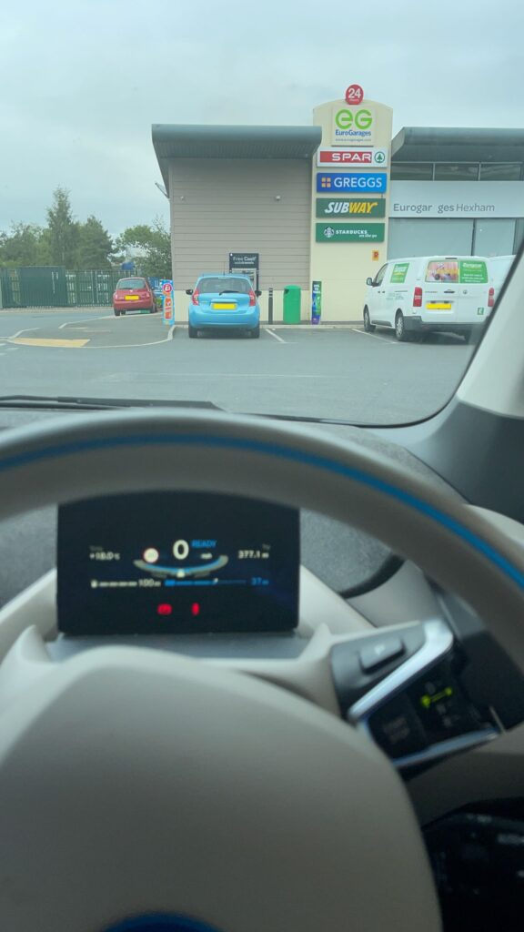 BMW i3 REx 2015, Alan Darrah - Living with an EV: Bangor, Northern Ireland to Middlesbrough Road trip report