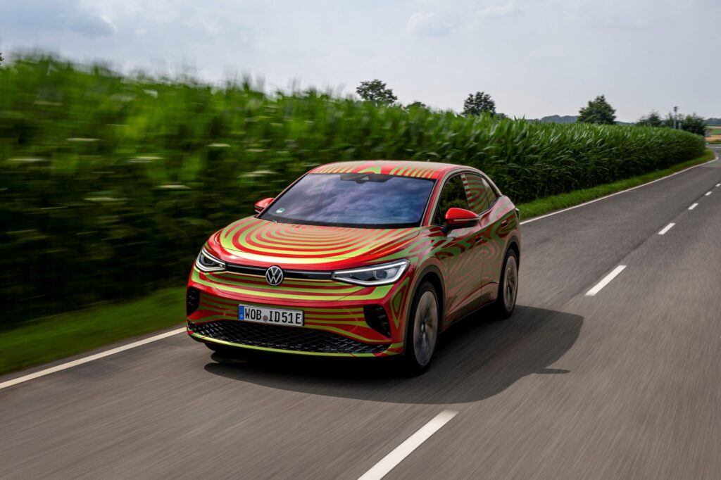 Volkswagen to introduce the SUV coupé ID.5 GTX at the IAA Munich Motor Show