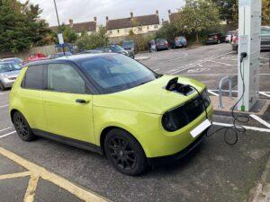 Honda e Advance 2020, Rusty - Living with an EV: Public charging