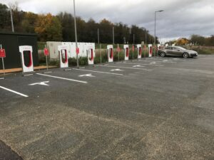 Tesla Model S 90KW 2016, William - Living with an EV: Road trip report Maidstone to Malta