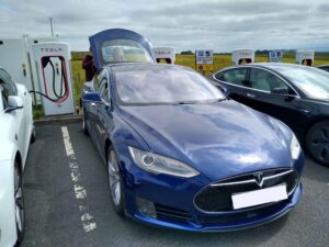 Tesla Model S 70D 2015, Simon - Living with an EV: Road trip report
