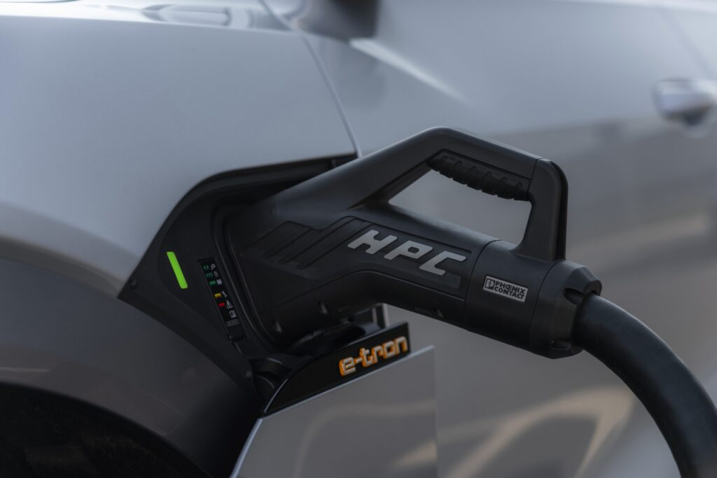 Audi e-tron charging service now covers almost 75% of the UK's public charging points