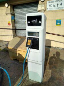 evolt charging station