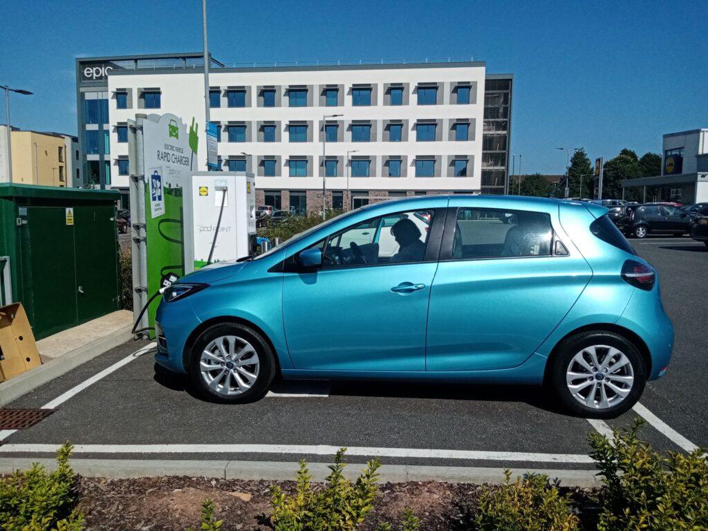 Renault Zoe ZE50 52kWh 2021, Glen - Living with an EV: Public charging