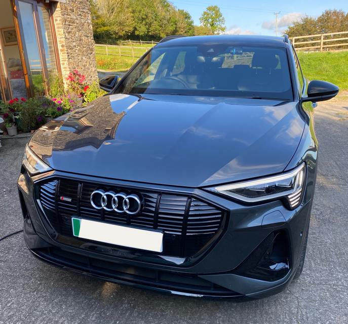 Audi E-tron 55 Black Edition 2021, Stephen H - EV Owner Review