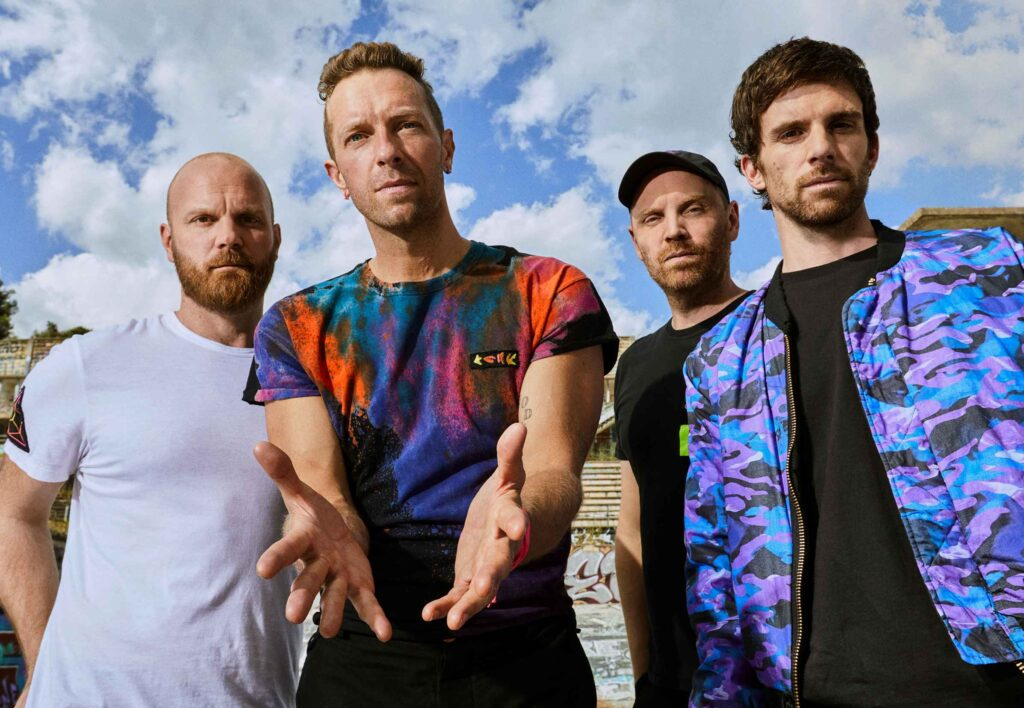 BMW makes Coldplay world tour more sustainable